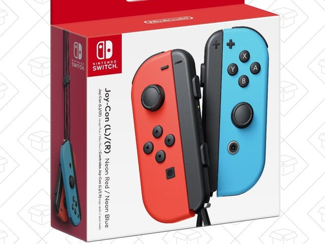 Grab An Extra Set of Joy-Con For $12 Off