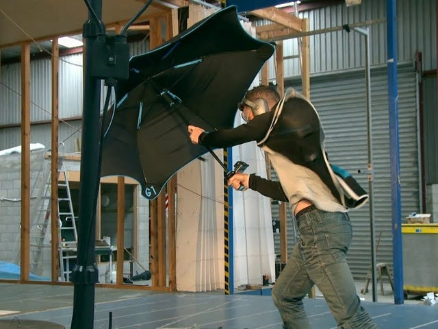 You'll Be Blown Away By This Nearly Indestructible Umbrella, On Sale Today Only