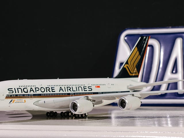 Singapore Airlines A380 by Eagle