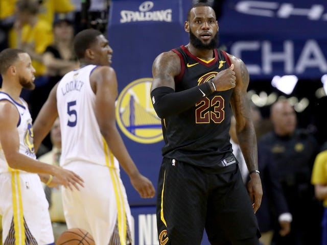 So, Can LeBron Do That Four More Times?