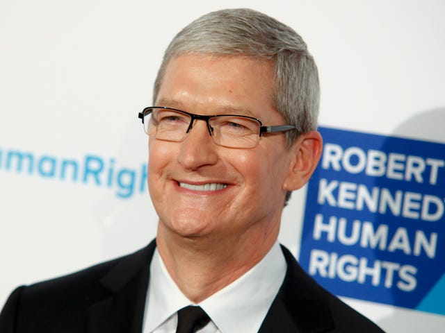 Tim Cook: Tech Is Dividing People, But Also Could We Slash Apple's Taxes Already?