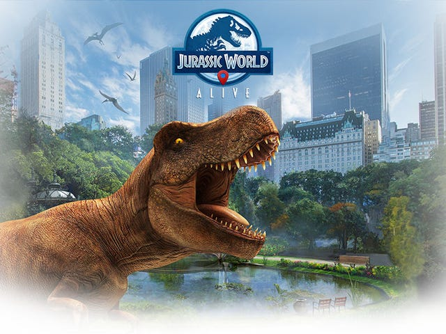 A Jurassic World Version of Pokémon Go Is Coming to Your Phone