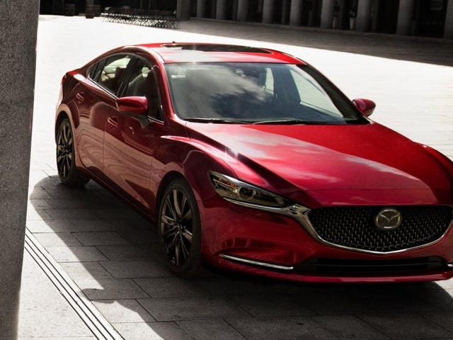 The Turbocharged 2018 Mazda6 Will Start At $30,090
