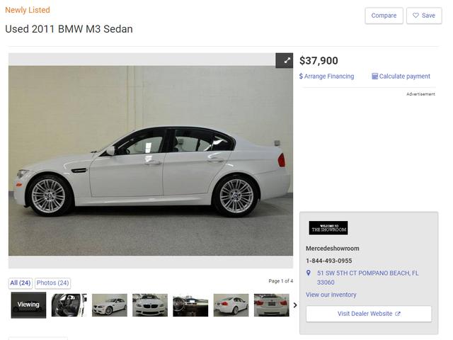 Ich habe das eine Auto gefunden, für das ich meinen M3 verkaufen würde