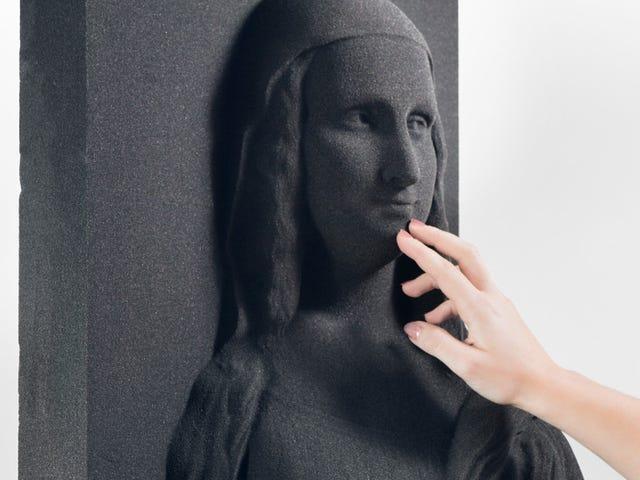 Ces images imprimées en 3D pourraient aider les aveugles à expérimenter l'art classique