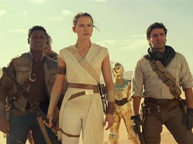 Breaking the Ominous Portents of the New Star Wars: The Rise of Skywalker Footage