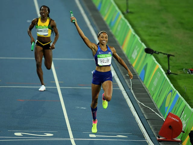 My Hero Allyson Felix Has the Most Olympic Gold Medals Of Any Female Runner On Earth