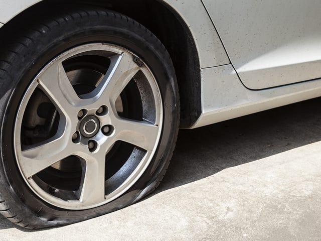 Tag flere billeder af dit næste flade dæk, så du kan bruge undskyldningen i fremtiden