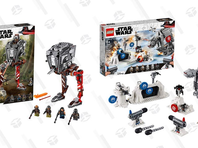 These Are the LEGO Sets You're Looking For, Get a Bunch of Discounted Star Wars LEGOs On Amazon