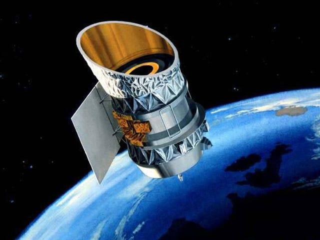 Twee satellieten kunnen vanavond in de VS tegen elkaar botsen