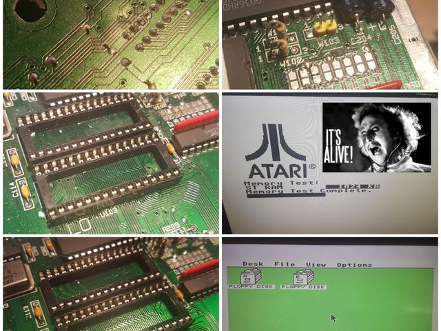 Reviviendo un Atari STE