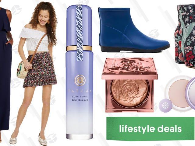 Monday's Best Lifestyle Deals: Tatcha, Alice + Whittles, Smashbox, Topshop, and More