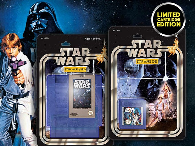 Look At These Star Wars Game Boxes