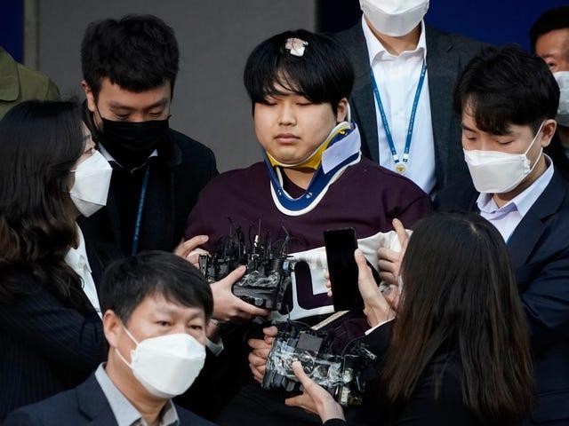 Νότια Κορέα Ονόματα Ο άνθρωπος προφανώς πίσω από τον online δακτύλιο εκβιασμού βίντεο