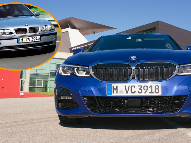 That Weird Notch on the 2019 BMW 3 Series Is Actually a Nod to the Iconic E46