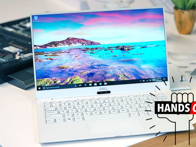 The Dell XPS 13 Is Now Way Faster, Smaller, and Available in White<em></em>
