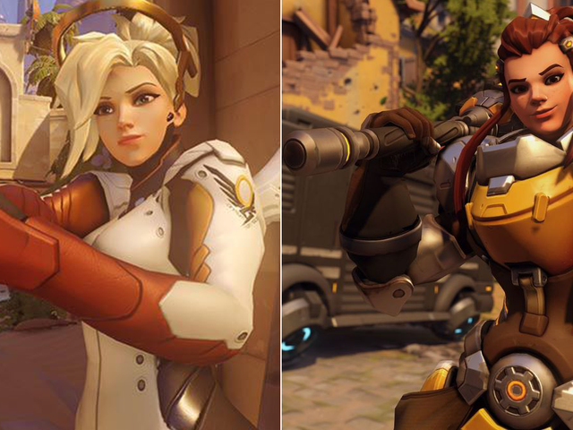Some Overwatch Players Think Brigitte's Face Looks Too Much Like Mercy's