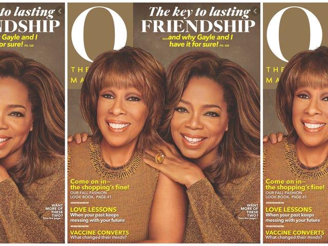 Αποκτήστε ένα Gayle: Για την 1η φορά στην ιστορία του περιοδικού O, η Gayle ενώνει την Oprah στο εξώφυλλο