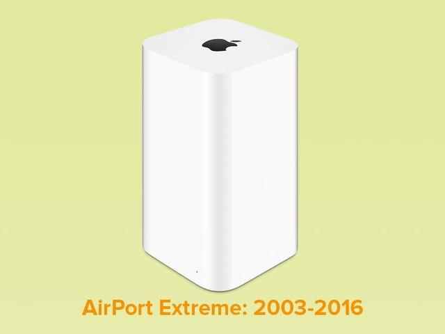 Roteadores sem fio RIP da Apple: Nós dificilmente
