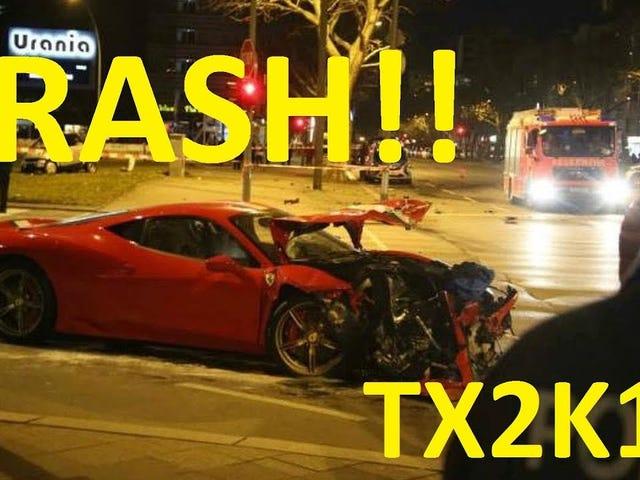 TX2K18 street racing crash