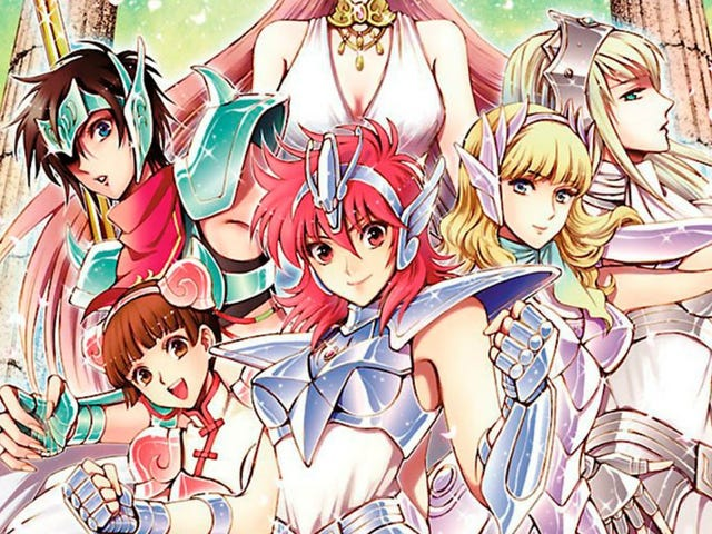 Seven Seas has licensed the manga of Saint Seiya : Saintia Sho