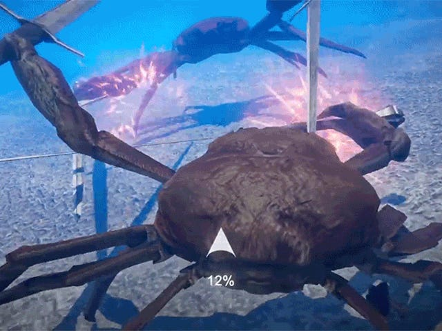 Crab Battles Get Turned Into A Real Video Game