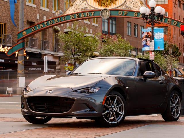 The 2019 Mazda Miata's Big Horsepower Bump Won't Hurt Fuel Economy