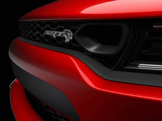 The 2019 Dodge Charger SRT Hellcat Is Getting A Giant New Intake On Its Face