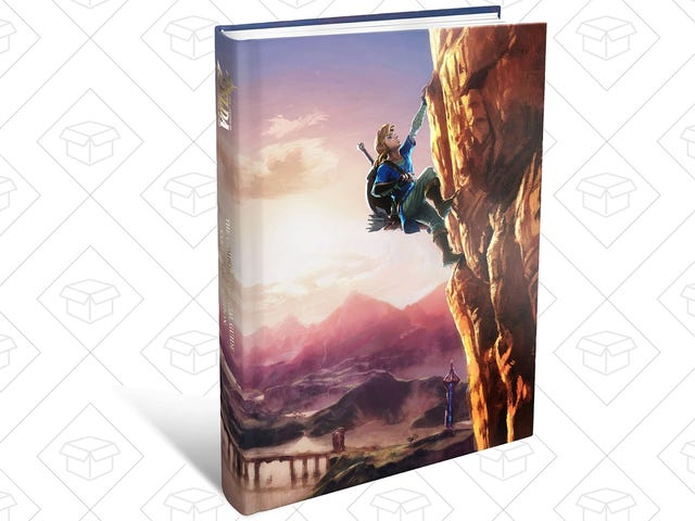 The Official Breath of the Wild Hardcover Collector's Guide Is Back Down to $24
