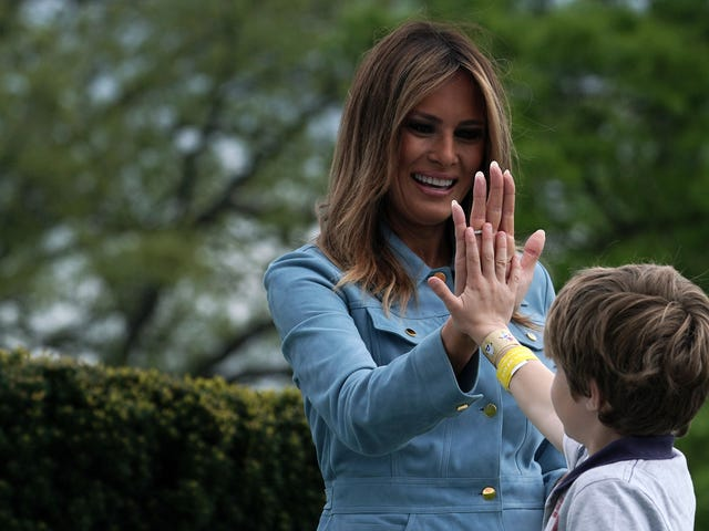 Melania Trump and the Hypocrisy of White American Motherhood
