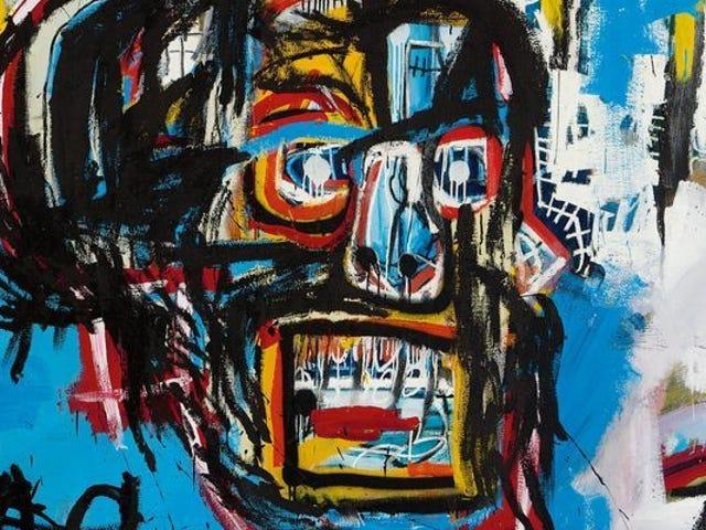 Jean-Michel Basquiatin maalaus myydään huutokaupassa Record 110,500,000 dollaria