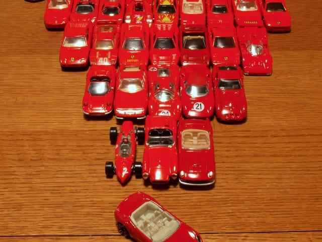 Rød Ferrari fredag