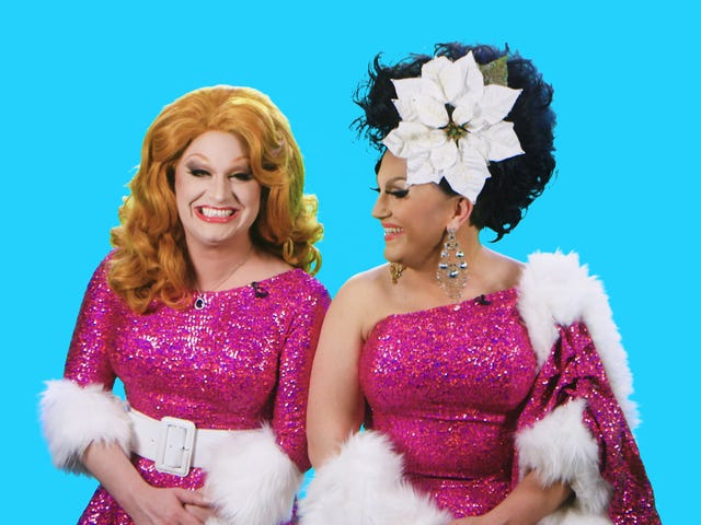 Jinkx Monsoon and BenDeLaCreme Get Into the Christmas Spirit at Their New Holiday Spectacular