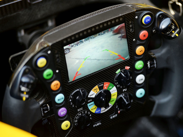 Actualización de Renaults para la próxima carrera.