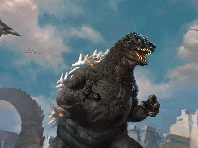 Godzilla Is Coming to Magic: The Gathering, and He's Bringing Friends