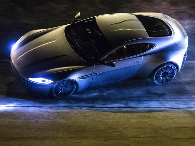 Lotus Just Joined Aston Martin And Jaguar On The Set Of Spectre
