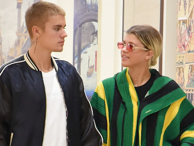 Justin Bieber i Sofia Richie Broke Up i It's Fine