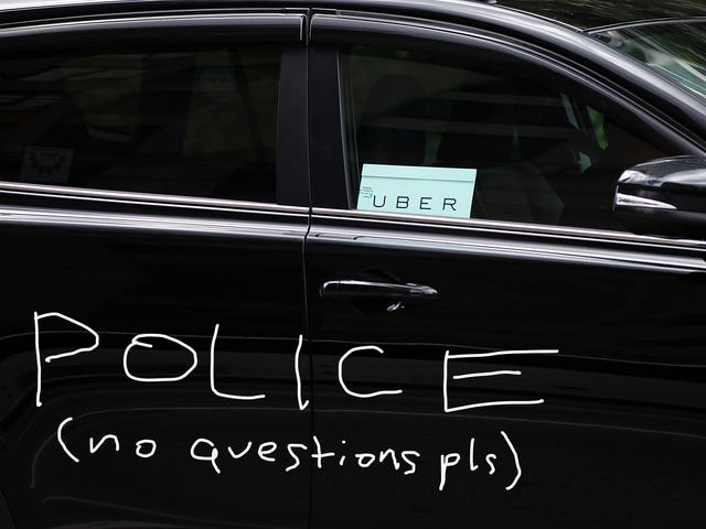 Scary Uber Driver Arrested for Impersonating a Cop, Packing Heat, Using Sirens