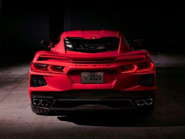 Puede personalizar el VIN de su Corvette C8 por $ 5,000