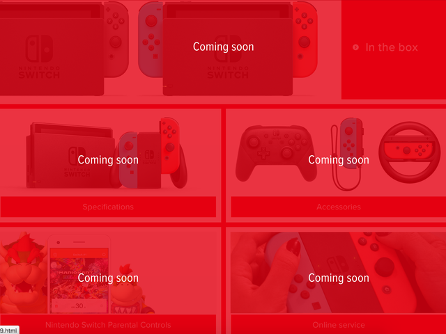 Switch blip: NoE site outlines missing Switch information