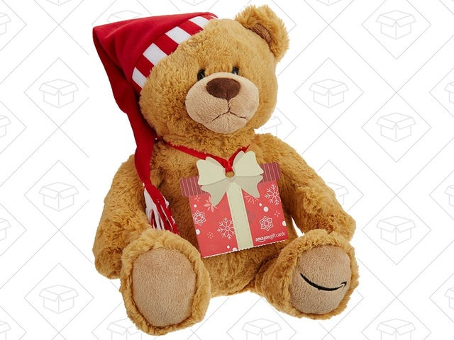 Amazon's Once-A-Year Teddy Bear Gift Card Bundle Is Still Available