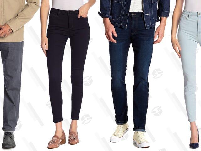 Joe's Jeans er et af de bedste, og det er en stor succes