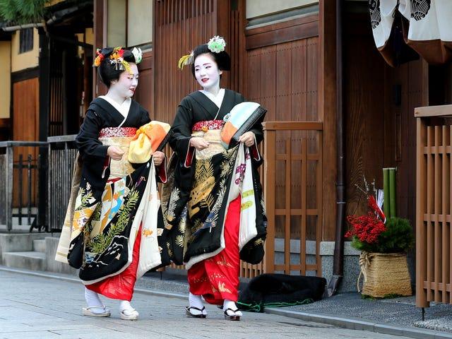 不良的游客行为导致京都Crack园的摄影镇压