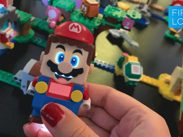 Lego's Super Mario Is Perfect If You Suck at the Video Games