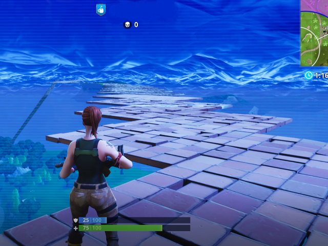 I Thought Fortnite Battle Royale's 'Stairway To Heaven' Would Be A Good Idea