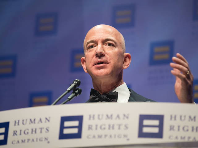 Amazon Shareholders Call for Jeff Bezos to Stop Selling Facial Recognition to Police