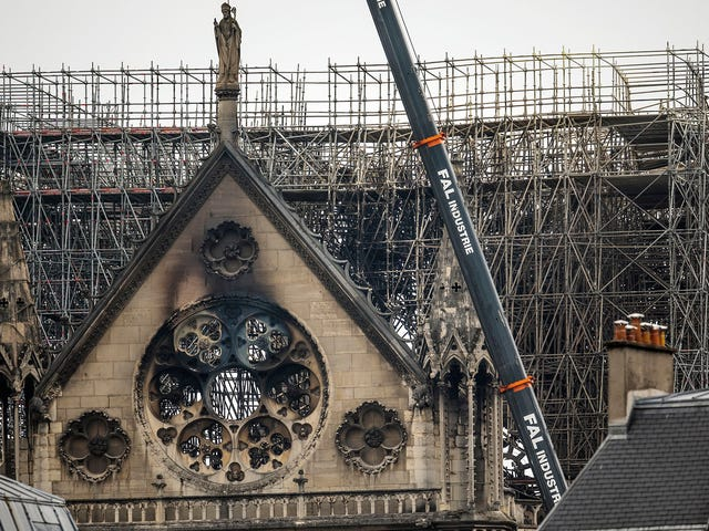 Investigators Trace Cause Of Notre Dame Fire To Cathedral's Outdated 12th-Century Electrical System