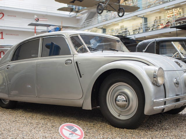 The Tatra 77a Was A Czech 'Secret Weapon' Because It Was So Good At Killing Nazis