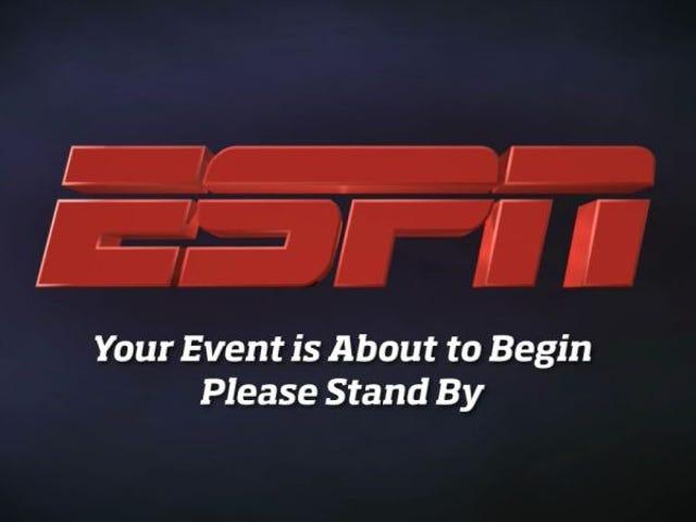 Źródło: ESPN.com Zmieniono nagłówek i pochopne historie w celu umieszczenia reklamodawców
