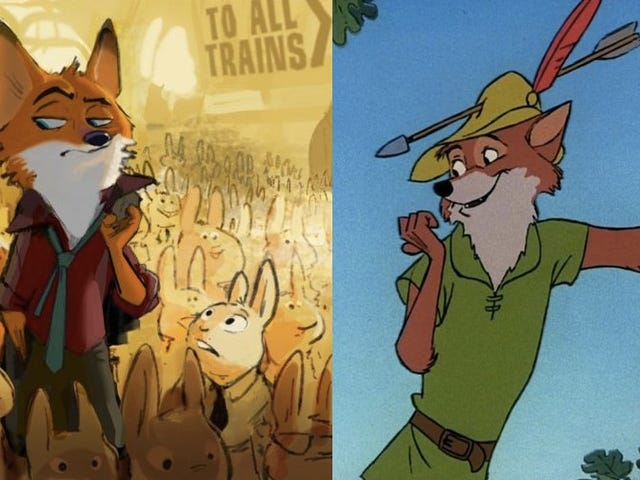Disneys Zootopia kunne bringe din Furry Robin Hood fantasier tilbage